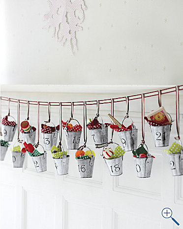 Buckets of Joy Advent Calendar Garnet Hill