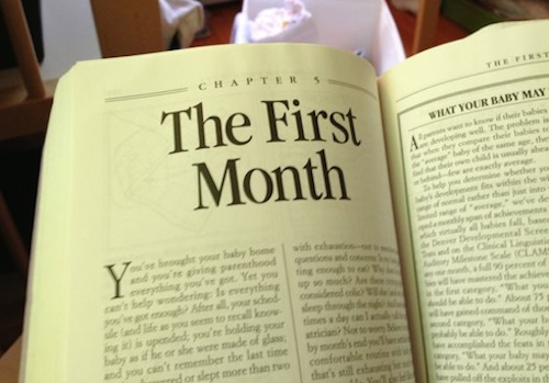 the first month